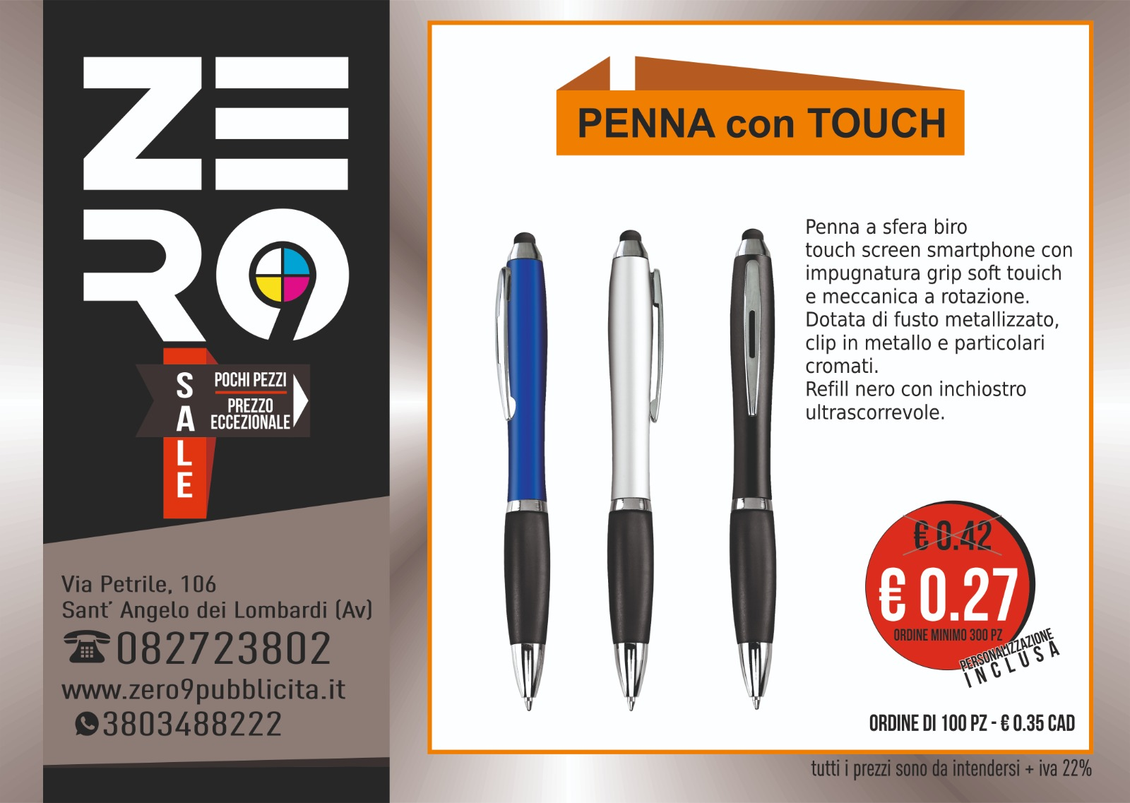 Penna con Touch